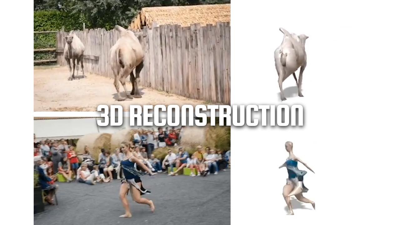 Reconstrucción articulada en 3D a partir de vídeos [eng]